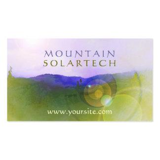 Mountain Solartech Business Card