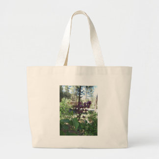 Mountain Spring Purple Lilacs Tote Bags