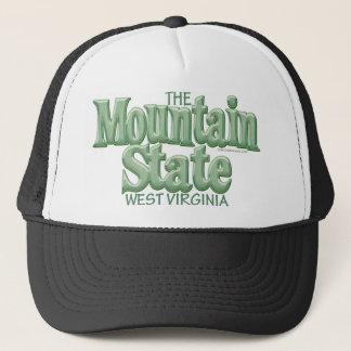 Mountain State, West Virginia Trucker Hat
