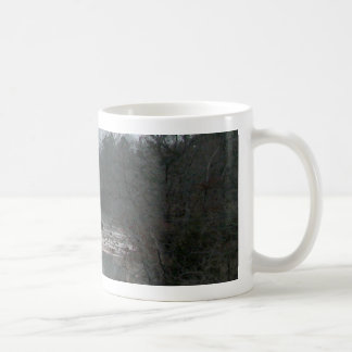 Mountain stream coffee mugs