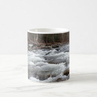 Mountain stream picture coffee mug