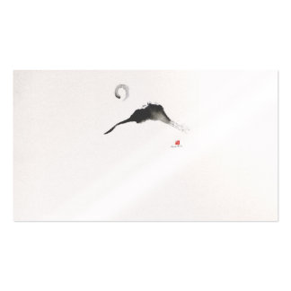 Mountain, Sumi-e Pack Of Standard Business Cards