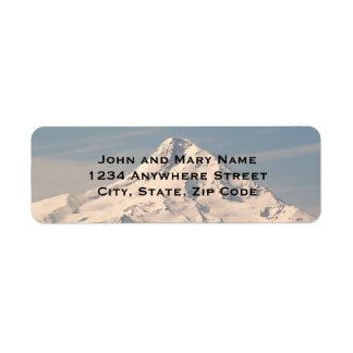 Mountain Summit Photo Return Address Labels