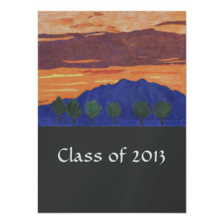 Mountain Sunset - Class of 2013 Grad Announcements