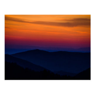Mountain Sunset Postcard