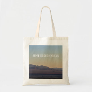 Mountain Sunset Tote Bag