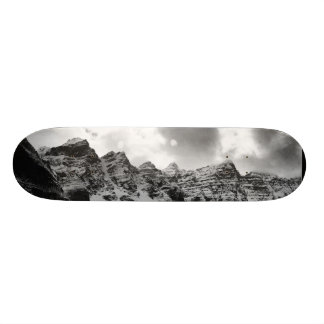 Mountain Tops (black & white) Skate Board Decks