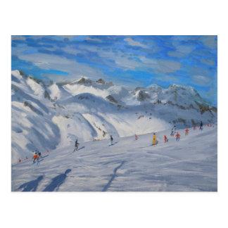 Mountain Tops Tignes 2009 Postcard