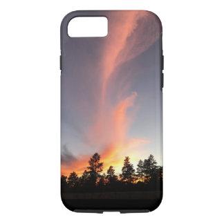 Mountain Town Sunset iPhone Case
