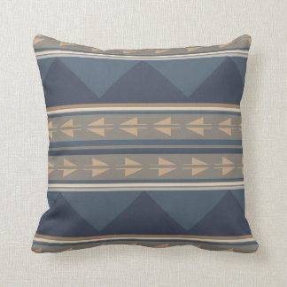 Mountain Tribal Pattern Pillow