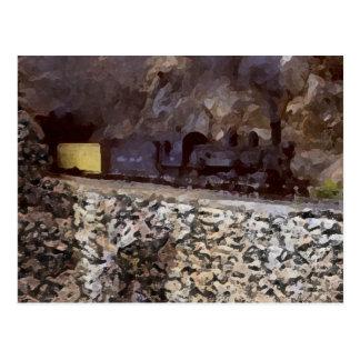Mountain Tunnel Post Card