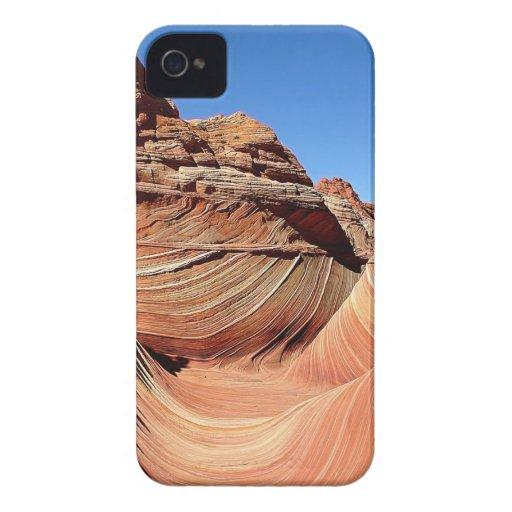 Mountain Valley Swirl Landscape iPhone 4 Case