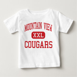 Mountain View - Cougars - High - Bend Oregon Baby T-Shirt