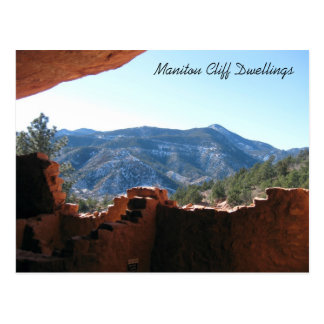 Mountain View from Cliff Dwellings Postcard