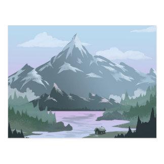 Mountain View Home Postcard