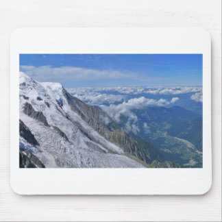 Mountain View Looking Down From The Clouds Mouse Pad