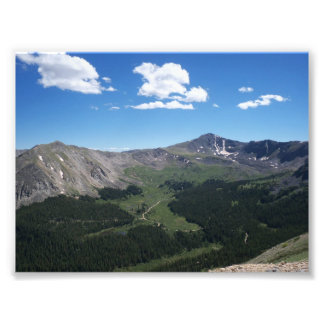 Mountain View Photo Print