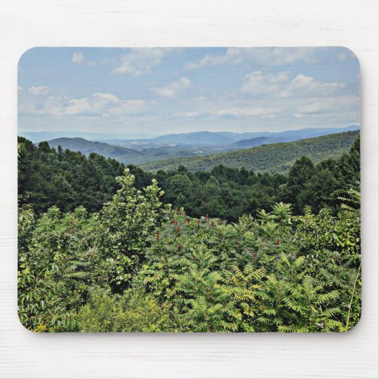 Mountain View - Shenandoah National Park Mouse Pad