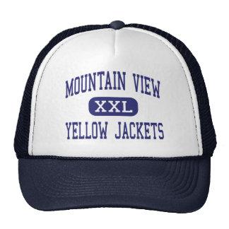 Mountain View - Yellow Jackets - Mountain View Mesh Hats