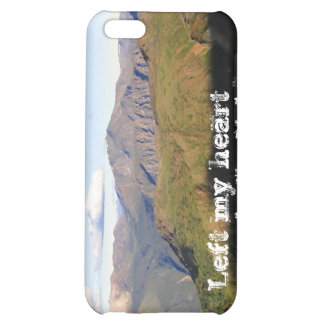Mountain View; Yukon Territory Souvenir Cover For iPhone 5C