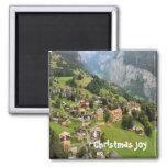 Mountain village, Jungfrau region Magnets
