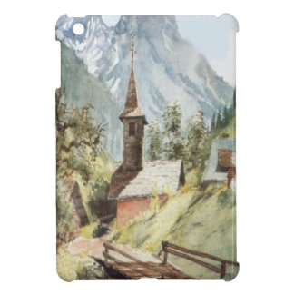 Mountain village near Mt Blanc range Cover For The iPad Mini