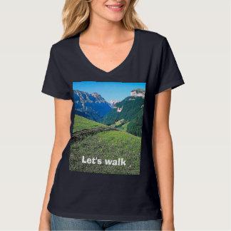 Mountain walk near Lauterbrunnen T-Shirt