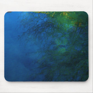 Mountain Water Mouse Pads