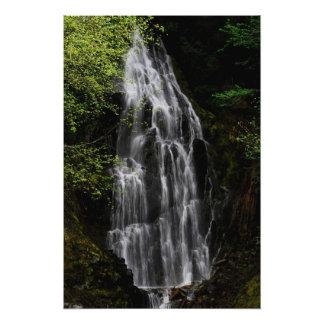 Mountain Waterfall Photo Print