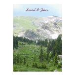 Mountain Wilderness Wedding Invitation