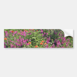 Mountain Wildflowers flowers Bumper Stickers