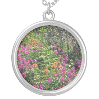 Mountain Wildflowers flowers Necklace