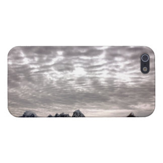 Mountain with cruiseship in the Pole Cover For iPhone 5/5S