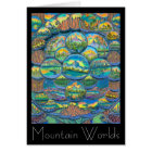 Mountain Worlds Drawings Card
