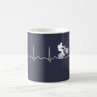 Mountainbike Heartbeat Coffee Mug