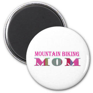 MountainBikingMom 6 Cm Round Magnet