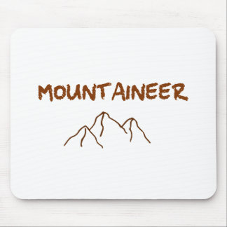 Mountaineer Mouse Pad