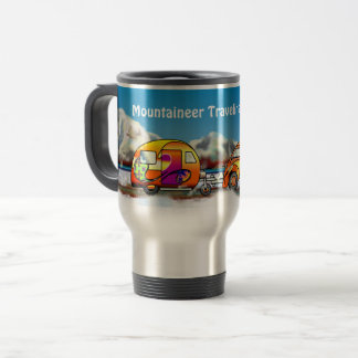 Mountaineer Traveling In Style Travel Mug