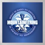 Mountaineering (Endure) Poster