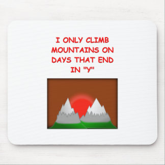 mountaineering mouse pads
