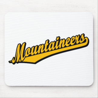 Mountaineers in Orange Mouse Mats