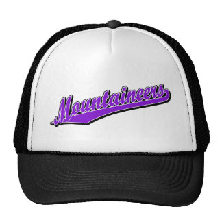 Mountaineers in Purple Hats