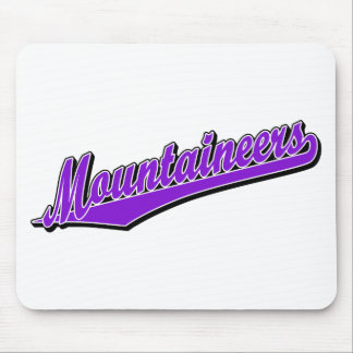 Mountaineers in Purple Mouse Mats