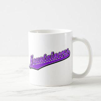 Mountaineers in Purple Mugs