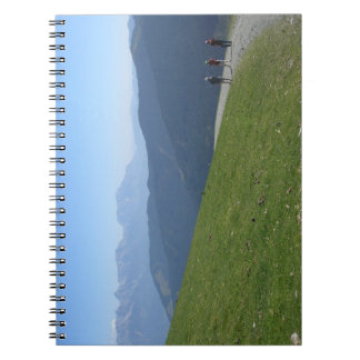 Mountainous Journey Notebook