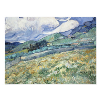 Mountainous Landscape by Van Gogh Photo Print