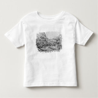 Mountainous landscape toddler T-Shirt
