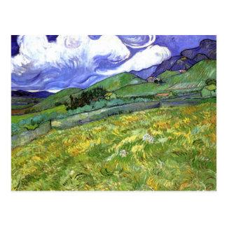 Mountainous Landscape, Van Gogh Fine Art Postcard