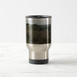 Mountainous View Of A Beautiful Building Coffee Mugs