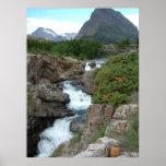 Mountainous Waterfall (colour)